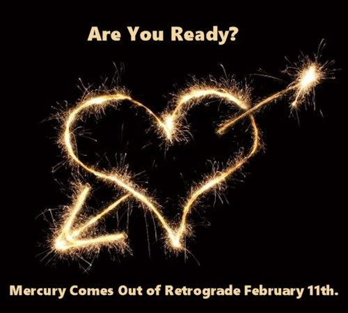 Mercury comes out of retrograde today!