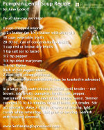Pumpkin Soup Recipe ~ A Thanksgiving Favorite by June Cook